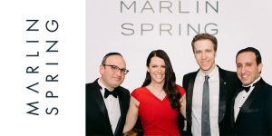 MARLIN SPRING FOUNDATION LAUNCHED; 1ST PARTNERSHIP WITH WE CHARITY